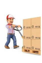 livraison-courrier-pousser-palette-boîtes-camion-homme-3d-dessins_csp32831498-2